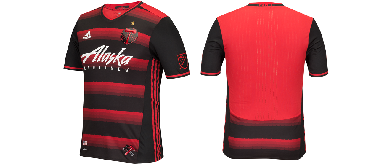 buy online 4b644 842ee Portland Timbers release new secondary jersey for 2016 ...