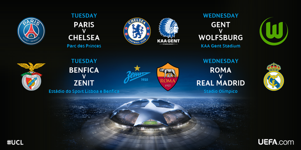 Schedule of Champions League games on US TV and live streaming