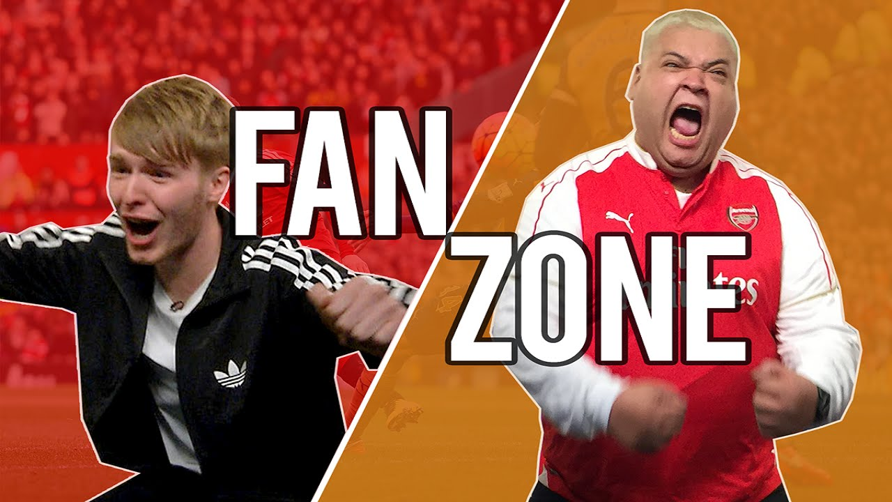 fanzone man utd 3 2 arsenal with heavy d gaz from fulltimedevils football88 football88
