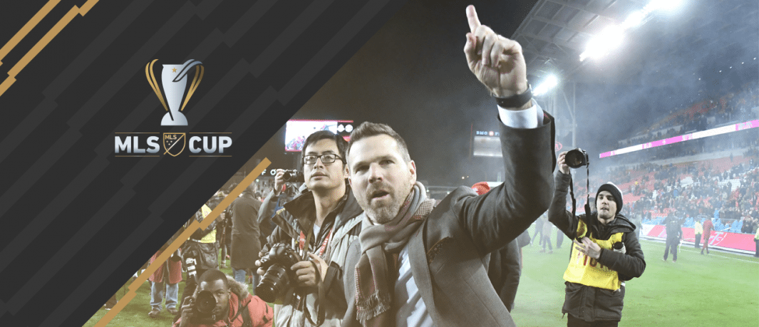 Greg Vanney - Toronto FC - MLS Cup