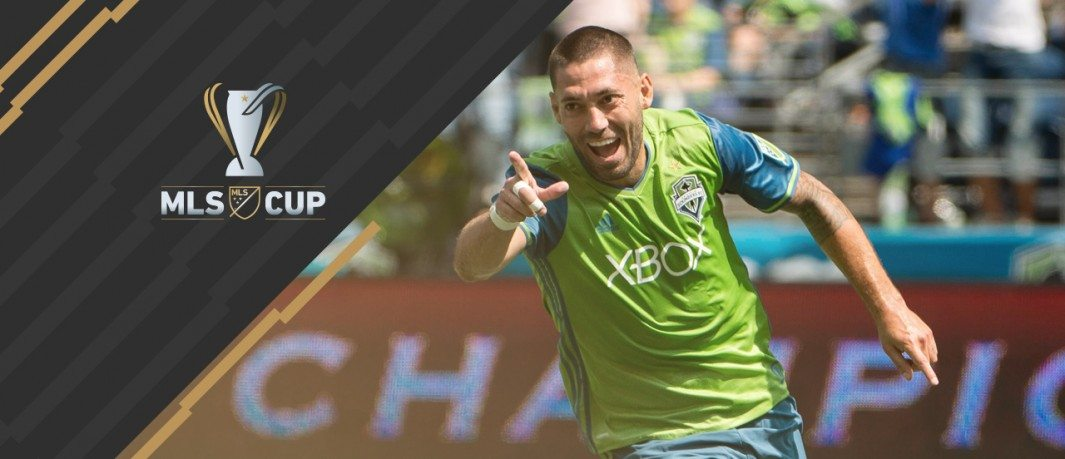 Clint Dempsey - Seattle Sounders - MLS Cup overlay