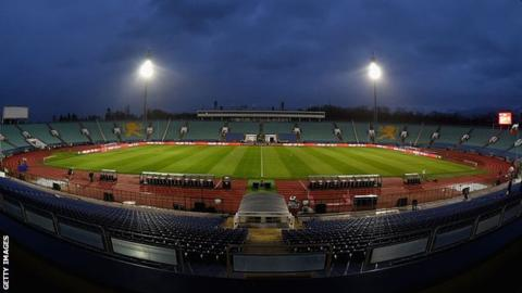 Vasil Levski stadium general shot