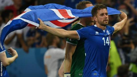 Kari Arnason played in the Iceland side that reached the Euro 2016 quarter-finals