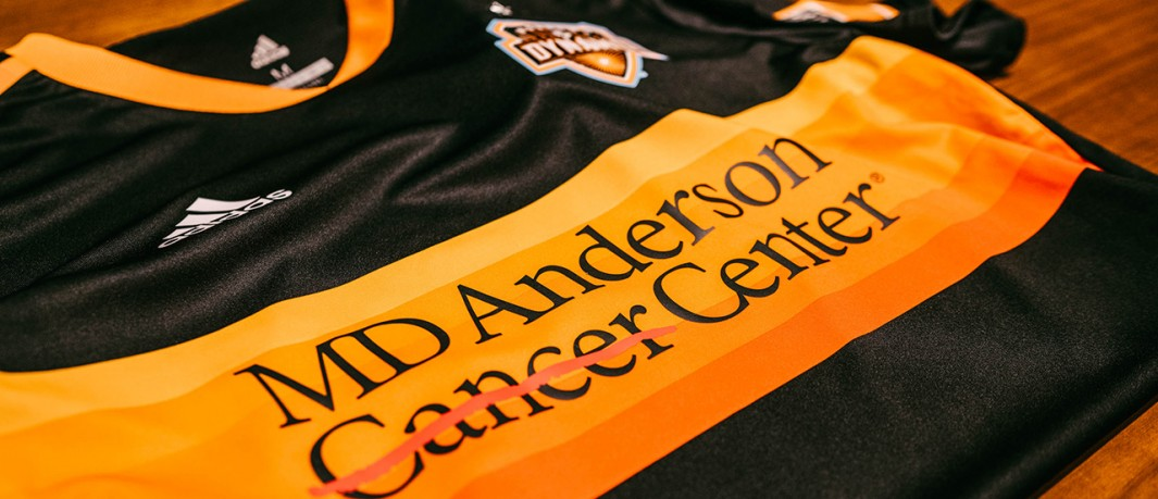 finest selection 7a4f8 d1013 Houston Dynamo ink unique partnership with MD Anderson ...