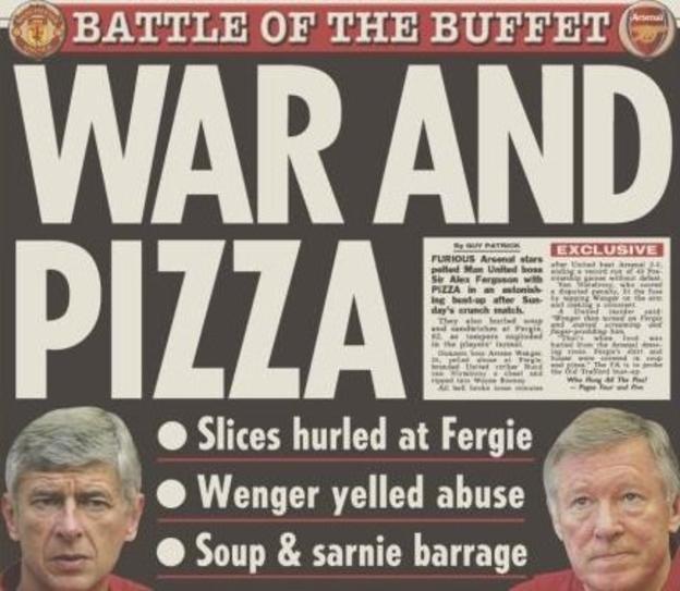 The Sun newspaper following 'pizzagate'