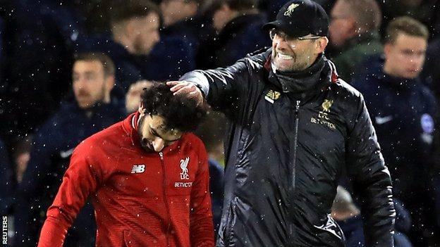 "Klopp described Liverpool's performance as ""mature"""