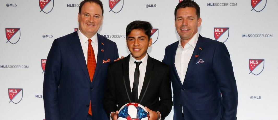 Jeff Berding - Frankie Amaya - Alan Koch - FC Cincinnati - 2019 MLS SuperDraft